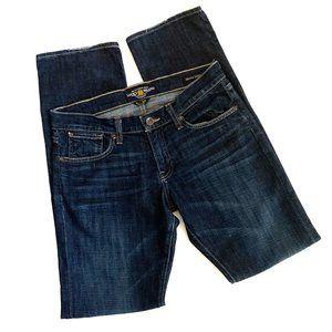 Lucky Brand Jeans Sienna Tomboy Straight Dark 6/28